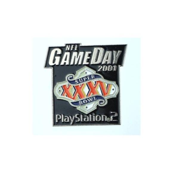 Jewelry - NFL Gameday 2001 Super Bowl XXXV Playstation 2 PS2